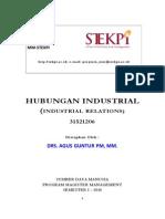 1 Hubungan Industrial