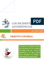 Los Incidentes Son Advertencias