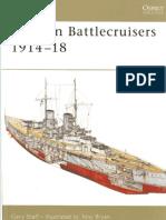 Vanguard - German Battlecruisers 1914-18