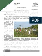 17/06/11 Germán Tenorio Vasconcelos bajo Control Paludismo en Oaxaca