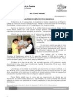 28 /05/11 Germán Tenorio Vasconcelos OAXAQUEÑAS RECIBEN  PRÓTESIS MAMARIAS