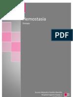 Hemostasia - Ensayo