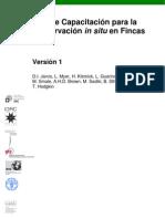 Guia de Capacitacion Para La Conservacion in Situ en Fincas PDF