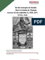 Desarrollo del concepto de Estado seg+¦n el libro Leviat+ín de Thomas Hobbes Artuor Leonardo Jara Godoy