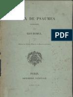 Choix de Psaumes