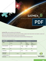 SATMEX 8 Specifications
