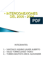 Interconexiones 2000-2004