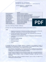Acta Consejo Nº 2 Ordinario 2013