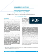 Hemograma en Pediatria
