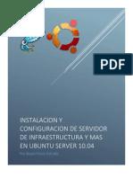 Instalacion y Configuración Servidor