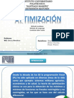 Optimizacion Pre