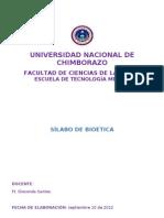 Silabo de Bioetica 2014