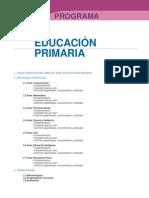 Diseño Curricular Nacional 2013 Primaria