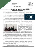 31/07/11 Germán Tenorio Vasconcelos CAPACITA SSO A PERSONAL DE PRIMER NIVEL EN REANIMACIÓN NEONATAL