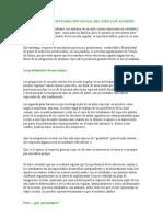 PROMOVIENDO LA INTEGRACIÓN SOCIAL DEL NIÑO CON AUTISMO.MB P CONFERENCIA