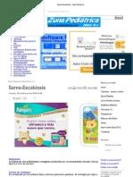 Sarna-Escabiosis - Zona Pediatrica