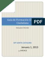 Guia de Educacion Civica