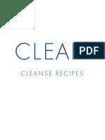 Clean Program Recipes