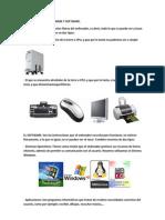 Hardware y Software de La Pc