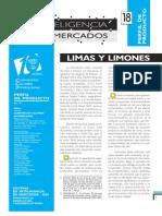 Inteligencia de Mercados de Limas y Limones Leido Semana Santa