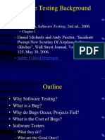 Chapter1 Software Testing Background