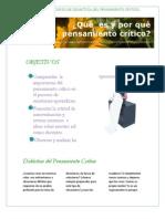 Journal Del Curso de Didactica Del Pensamiento Critico