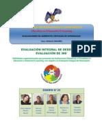EVALUACIÓN INTEGRAL DE DESEMPEÑO. evaluacion 360° Grupo 22