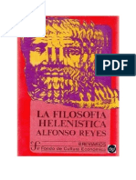 Reyes Alfonso - La Filosofia Helenistica