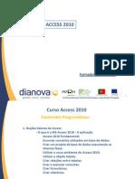 Curso Access 2010 - Teoria- DIANOVA