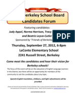 2012 Berkeley School Board Candidates Forum_final