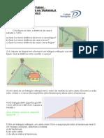 Exercícios Relações Métricas no triangulo retângulo 2