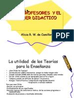 LOS PROFESRES  Y EL SABER DIDACTICO.ppt