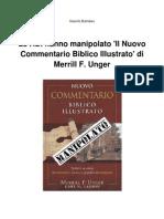 ADI Hanno-manipolato Il Nuovo Commentario Biblico Illustrato-Di Merrill F Unger