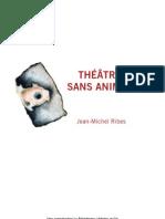 Dossier Théâtre sans animaux - Le Palindrome