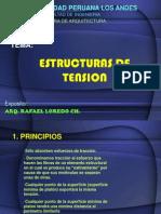 Estructuras de tracción