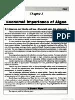 Algae economic Importance