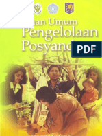 Buku Pedoman Umum Pengelolaan Posyandu