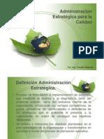 Administración Estratégica para la Calidad  [Modo de compatibilidad]
