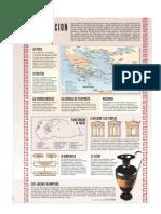 """lamina del diario """"El mundo"""" sobre la civilización griega"""