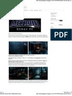 Detonado Metroid Other M