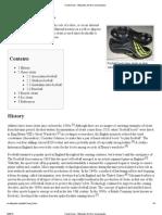 Cleat (Shoe) - Wikipedia, The Free Encyclopedia