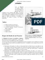 Proyecto arquitectónico - Wikipedia, la enciclopedia libre