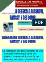 VALORACIÓN ESCALA GLAGOW, RAMSAY, DOLOR Y - copia