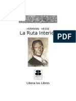 Hesse, Hermann - La Ruta Interior
