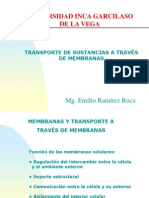 Clase 2. Transporte Membranas