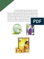 Analisis STP Produk Citra