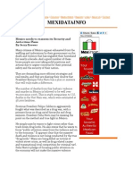 Pacification and Problematic Implementation in Policing Mexico