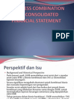 Bussiness Combination and Consolidated Financial Statement