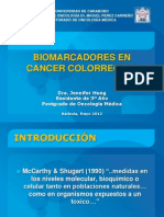 Biomarcadores en Cancer de Colon