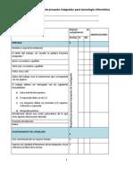 Rúbrica para evaluación de  trabajo escrito de Proyecto_integrador_tecnologia informatica